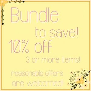 Bundle to Save!!